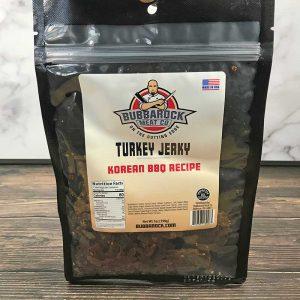 Turkey Jerky – Korean BBQ